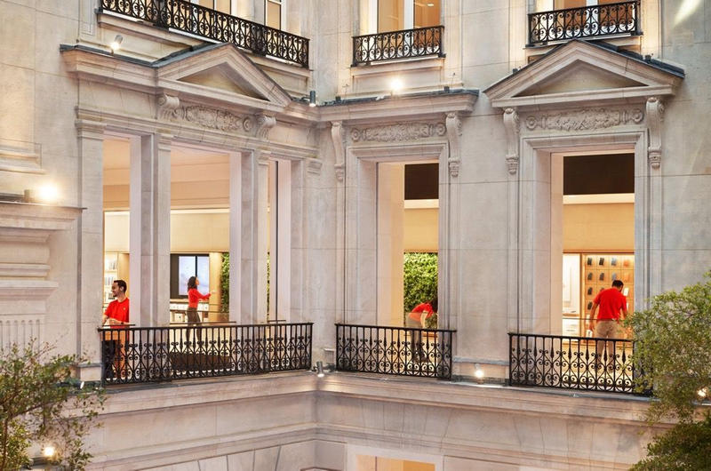Photos De L'Apple Store Des Champs-Élysées