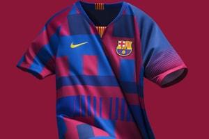 Nike Célèbre Ses 20 Ans De Partenariat Avec Le Barça D'Un Maillot Collector