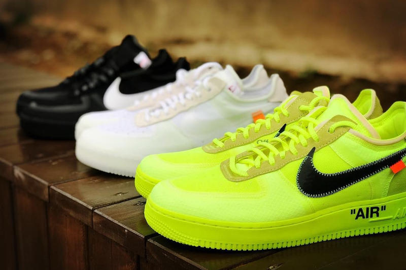 Photo Off-White™ x Nike Air Force 1