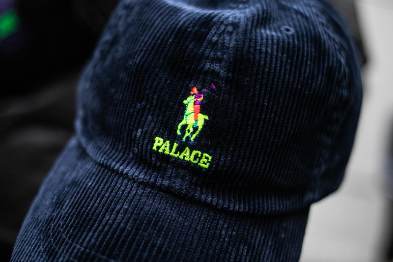 Palace Ralph Lauren Collection Street style londres