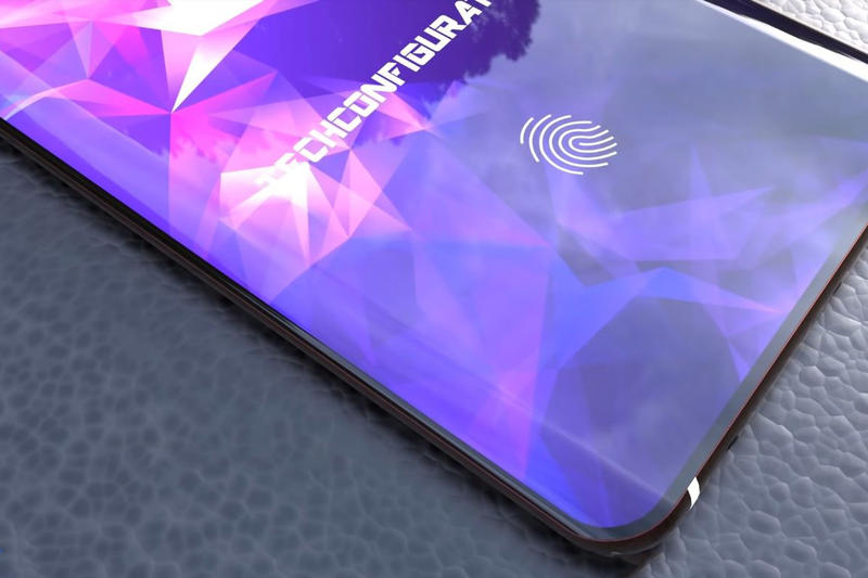 Photo Du Concept Samsung Galaxy S10