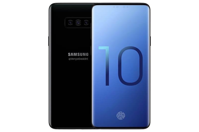 Photo D'Un Concept Du Samsung Galaxy S10