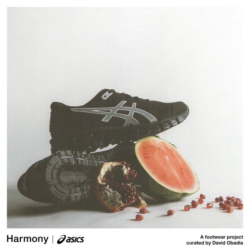 Photo De La Collaboration Harmony x ASICS