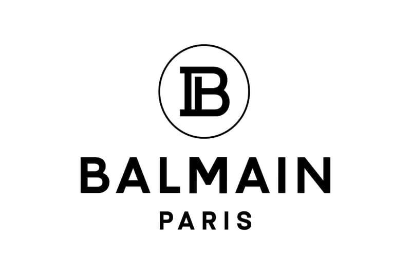 Balmain Olivier Rousteing Nouveau Logo