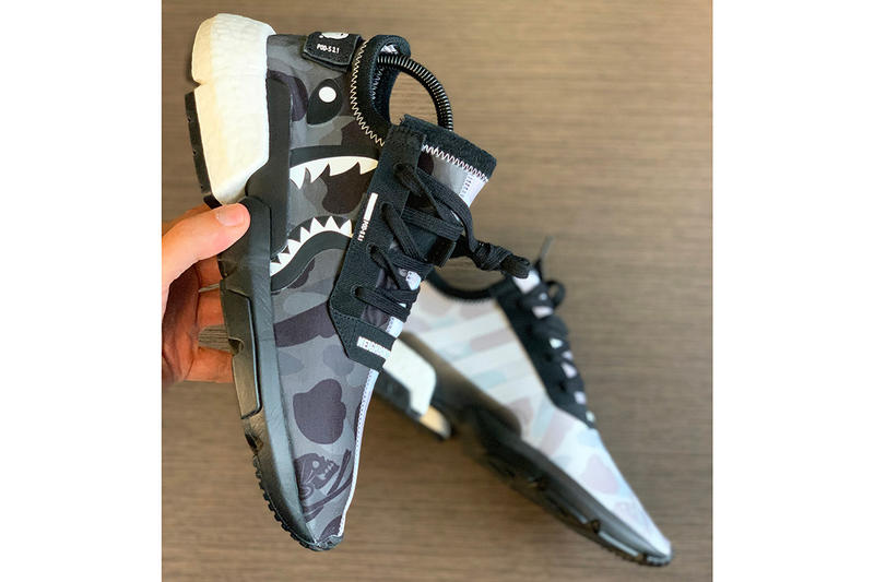 Photo BAPE x NEIGHBORHOOD x adidas POD-S3.1