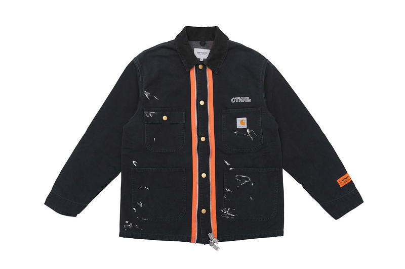 Photo Heron Preston x Carhartt WIP