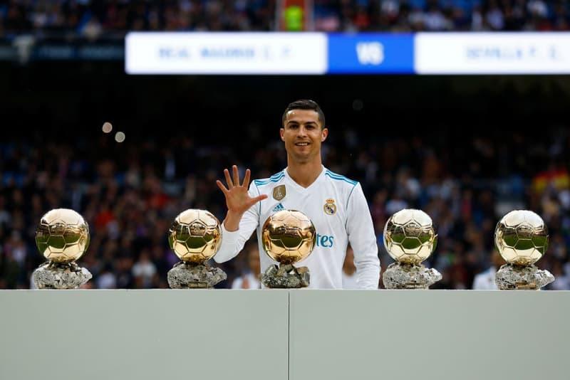 Cristiano Ronaldo Antoine Griezmann Ballon d'or ceremonie