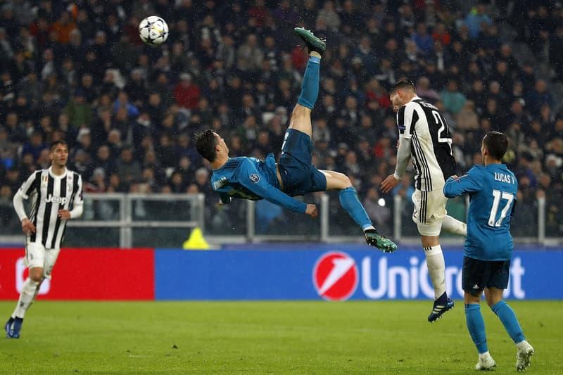 Cristiano Ronaldo But Retourné Acrobatique Tableau Swarovski