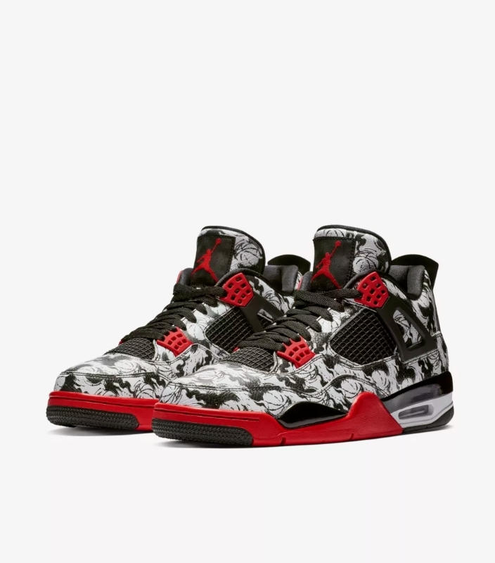 "Photo Air Jordan IV ""Tattoo"""