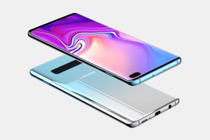 Photo Du Concept Samsung Galaxy S10+