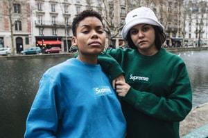 Les Sweats Box Logo De Supreme S'Affichent Dans Les Rues De Paris
