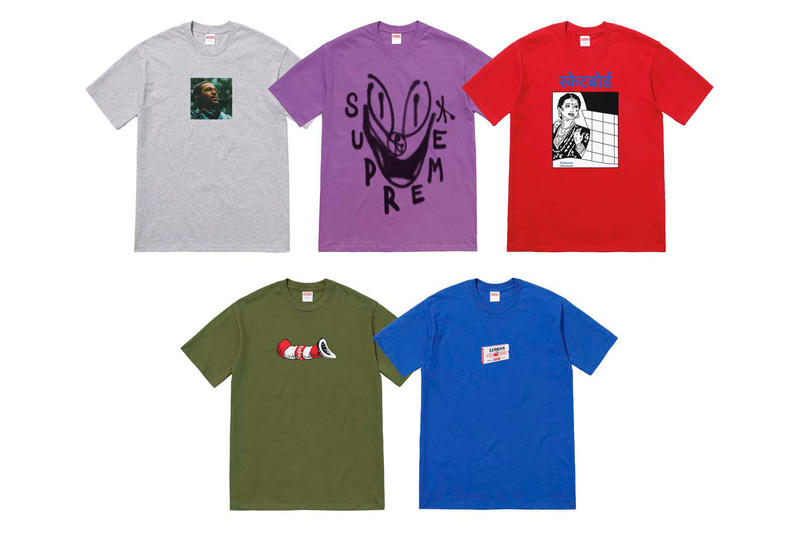 Supreme Marvin Gaye Collaboration T-SHirts Photos Date de sortie