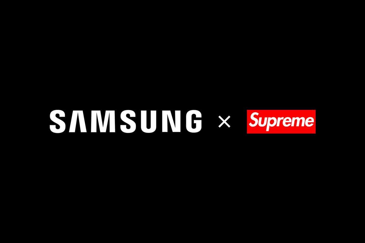 Incroyable Mais Vrai, Samsung Vient D'Annoncer Une Collaboration Avec Un Faux Label Supreme