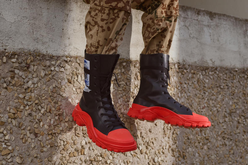 adidas raf simons rs detroit runner high photos date de sortie