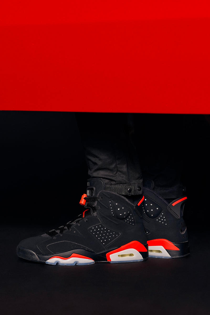 "Photo KITH Air Jordan 6 ""Black Infrared"""