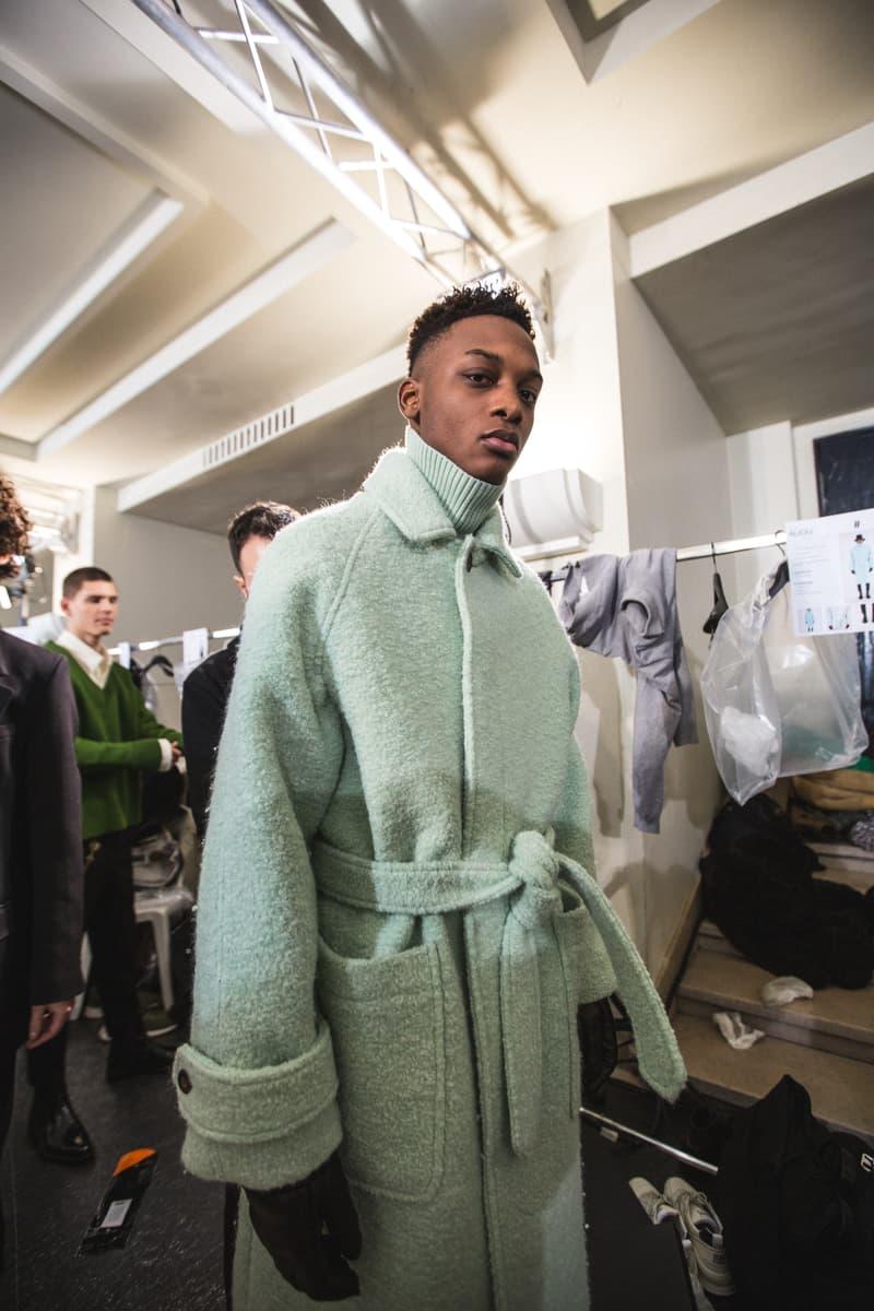 AMI Fashion Week Paris Automne Hiver 2019 Photos coulisses