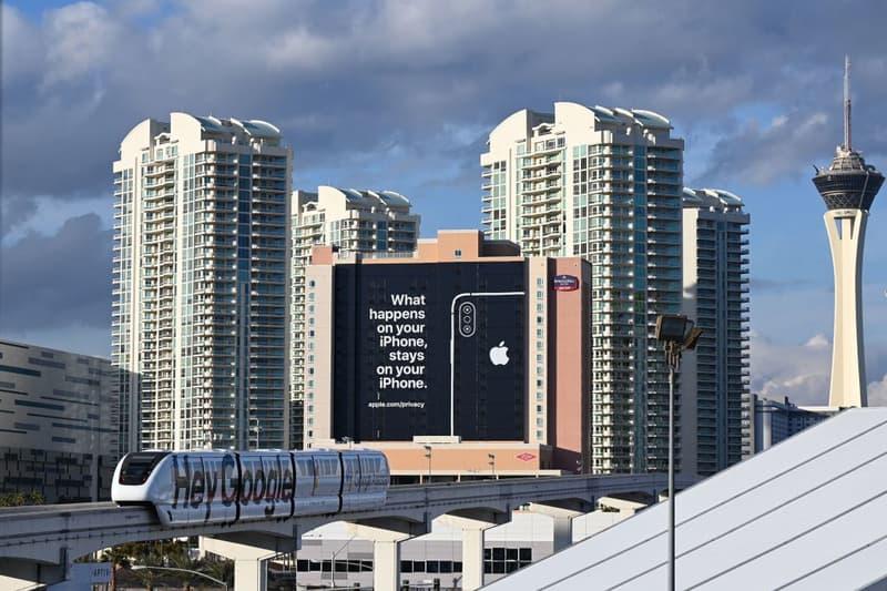 Apple Google Troll Panneau Publicitaire