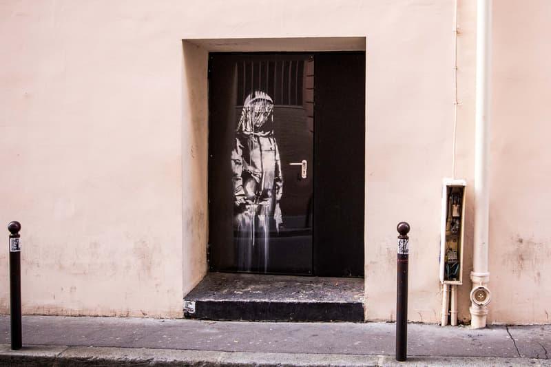 Banksy Bataclan Œuvre vol