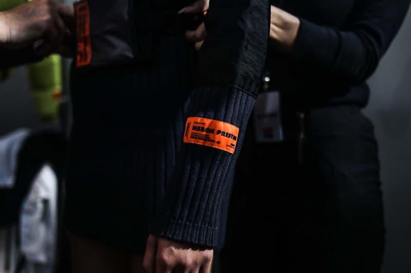 fashion week heron preston paris defile coulisses automne hiver 2019