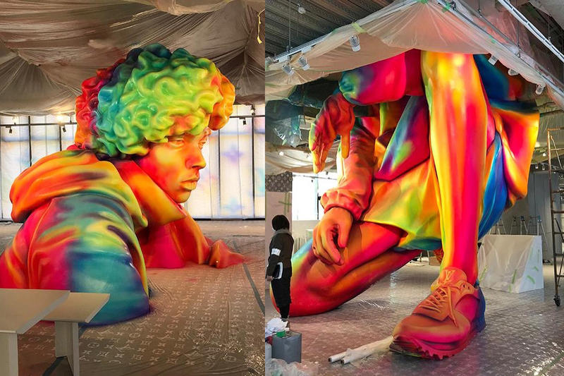 Louis Vuitton Virgil Abloh art installation collection tokyo new york pekin