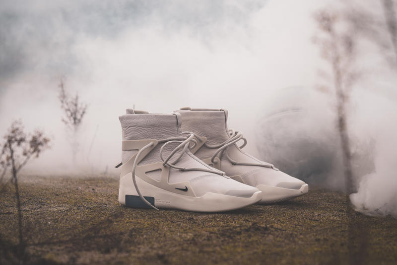 Nike Air Fear Of God Raffle Light Bone Black France