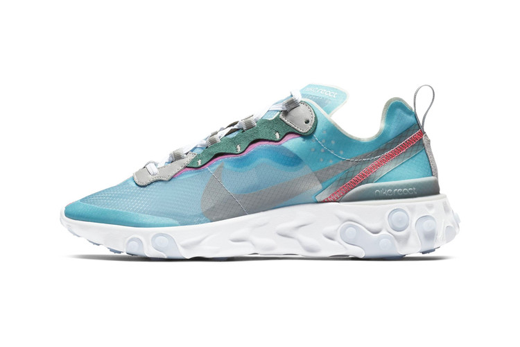 a8904ec925465 Nike Pare Sa React Element 87 D Un Nouveau Coloris
