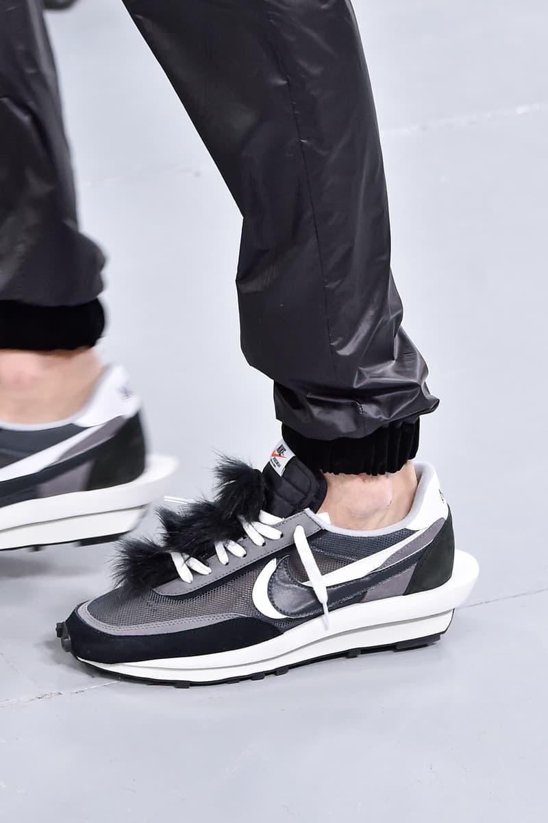 Nike sacai sneakers photos