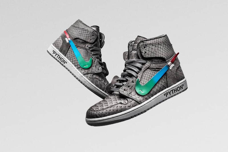 Off-White Air Jordan 1 The Shoe Surgeon Lux Menta Photos