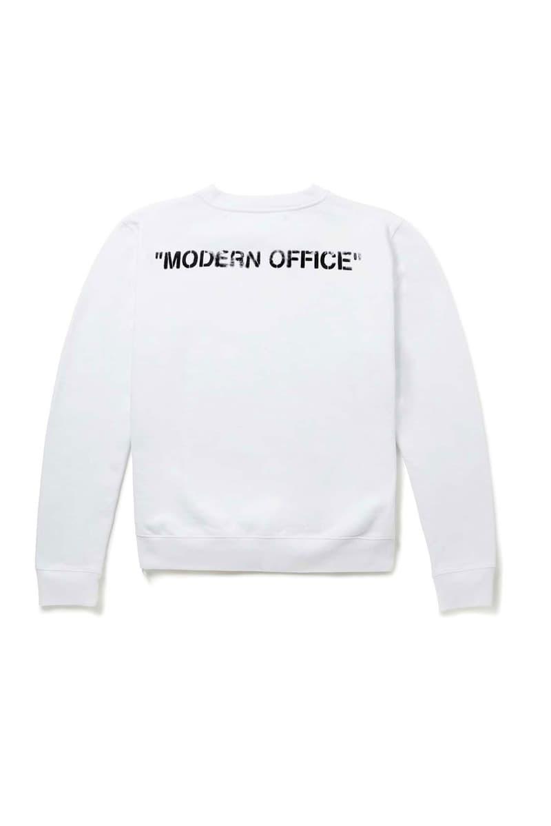 "Photo Off-White™ x MR PORTER ""Modern Office"""