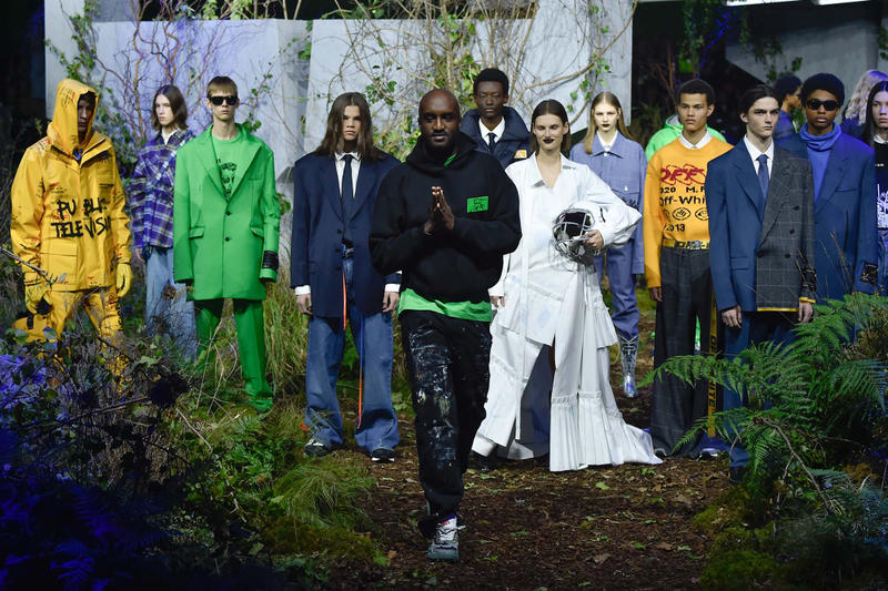 Off-White Virgil Abloh Défilé Paris Fashion Week Playlist