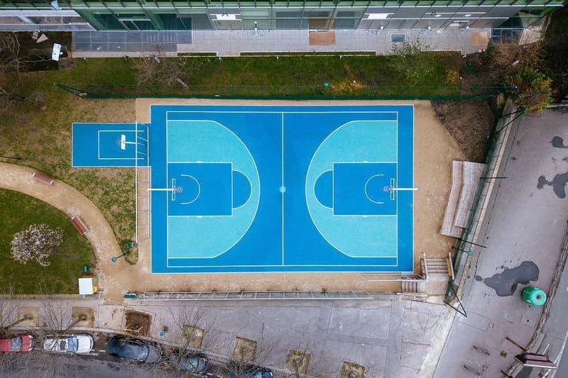 Paris Basket Terrain playground