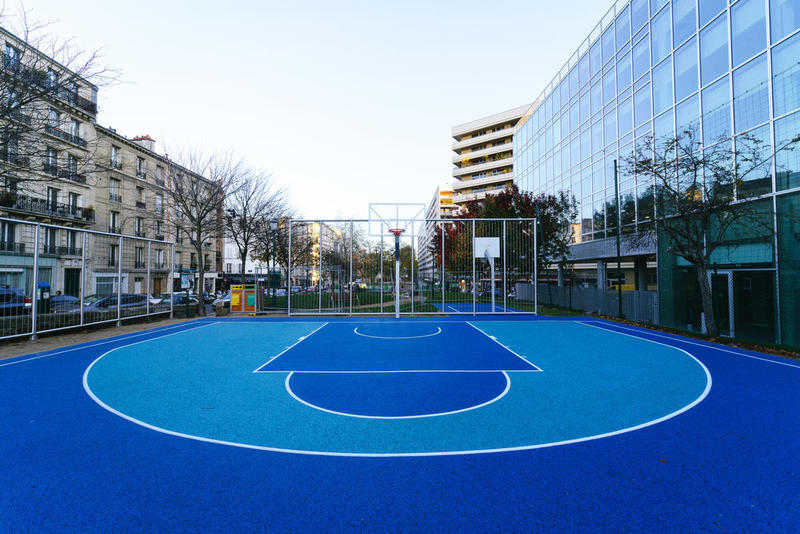 Paris Basket Terrain playground