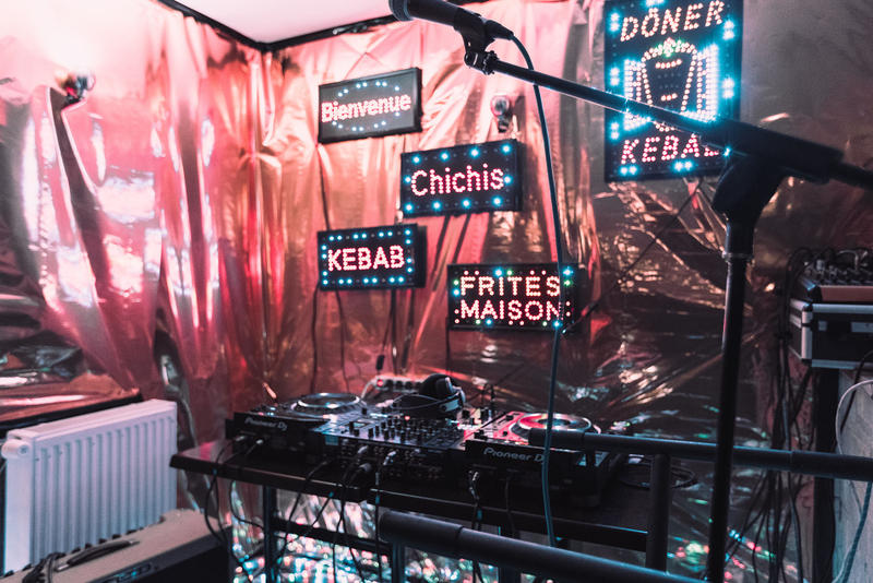 SADEK & XAVIER VICELAND série soirée photos kebab