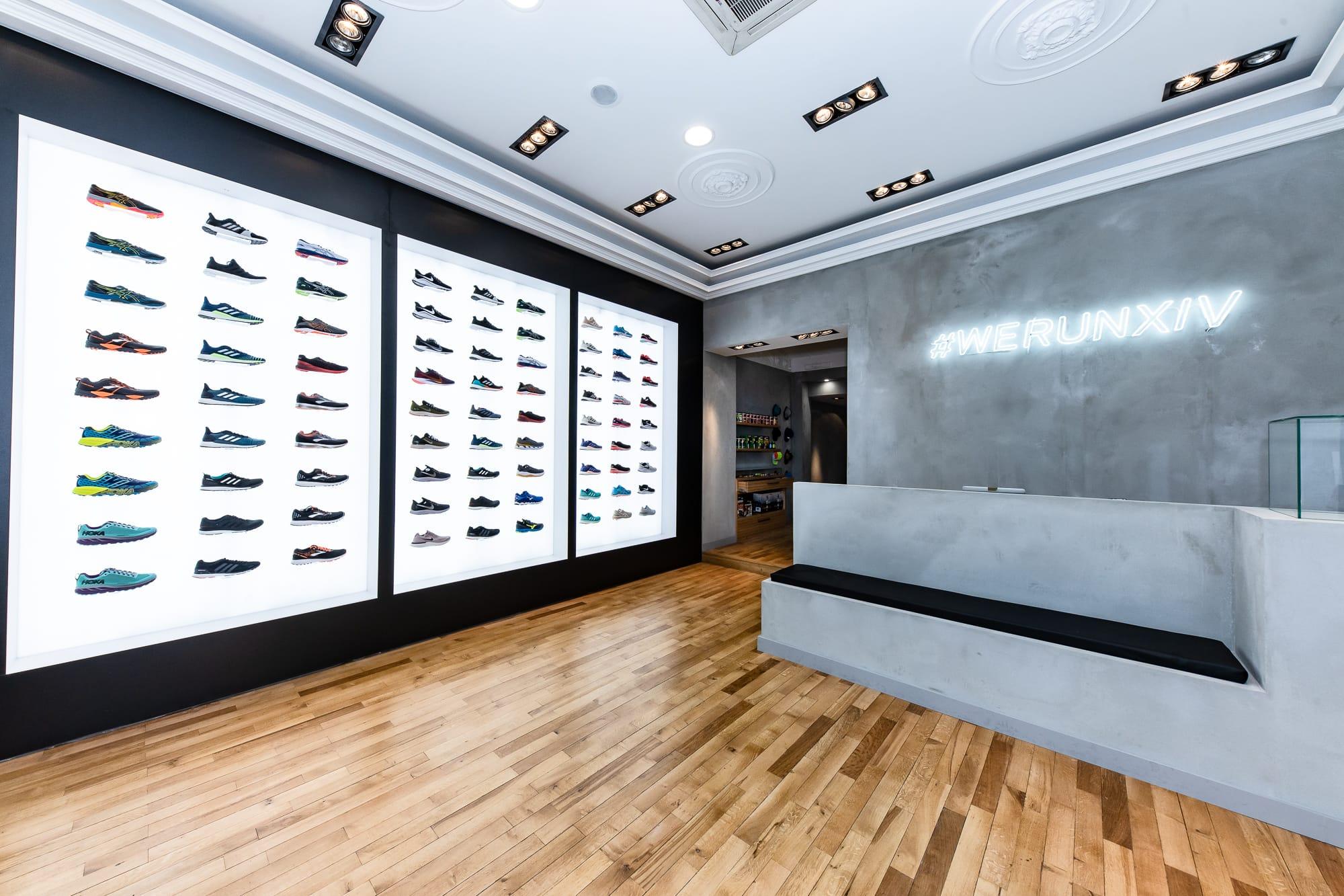 boutique de running paris