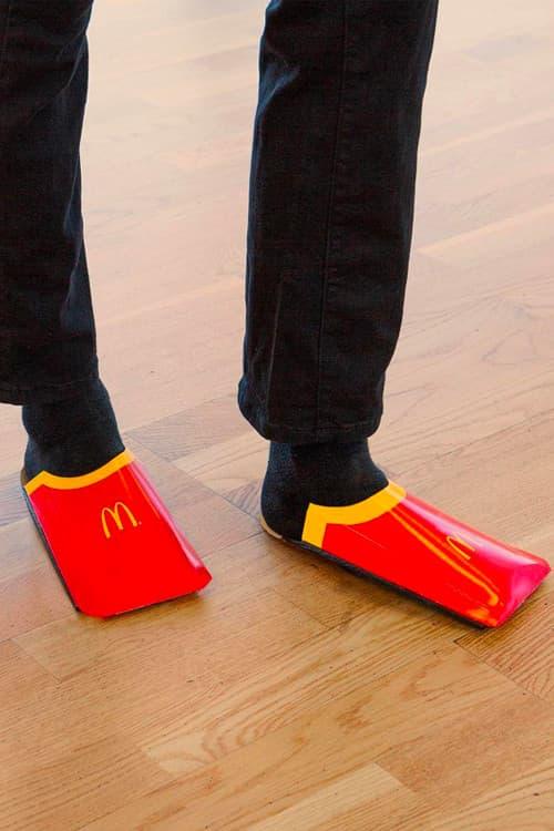 Photo Des Sandales McDonald's Balenciaga