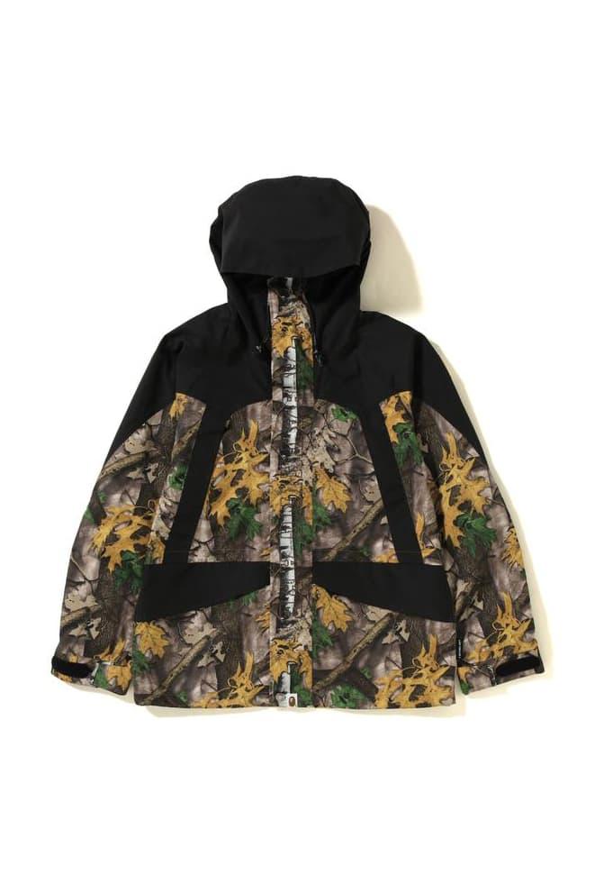 BAPE Forest Camo Shopping