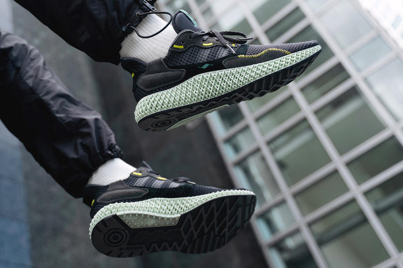 "Photo adidas Consortium ZX4000 4D ""Carbon"""