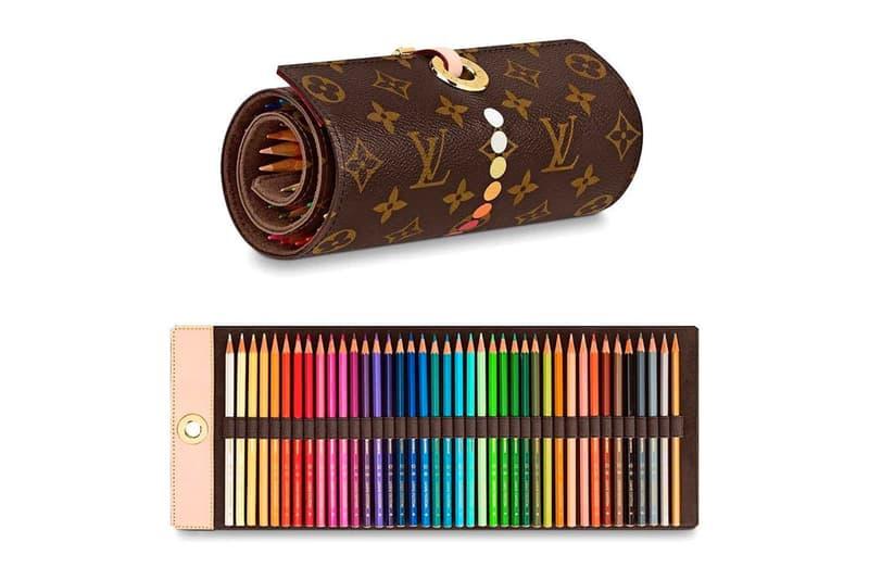 Louis Vuitton accessoire crayons couleur trousse 900 dollars leaks
