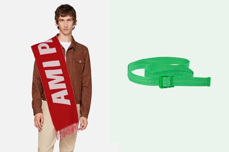 Louis Vuitton Off-White AMI Accessoires Hiver