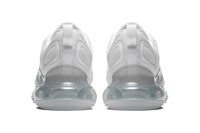 Photo Nike Air Max 720 Blanche