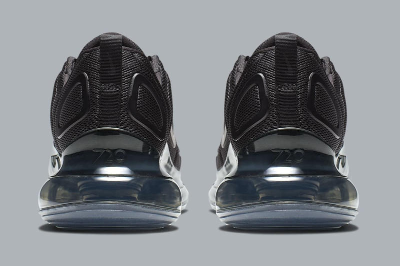 Nike Air Max 720 Triple Black Photos