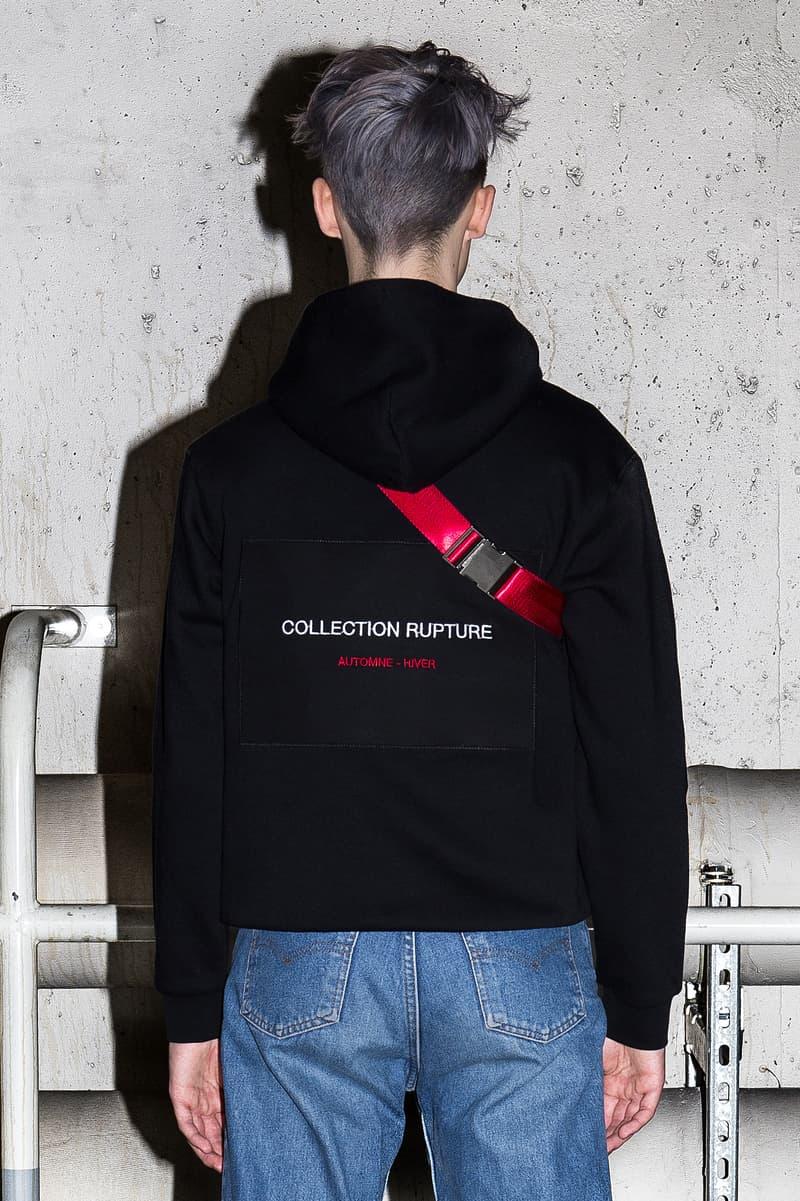 RUPTURE Collection Hoodie Sac Lookbook