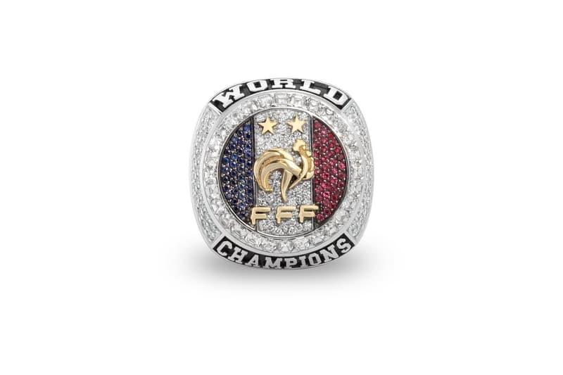 Équipe de France Champions Du Monde Bagues