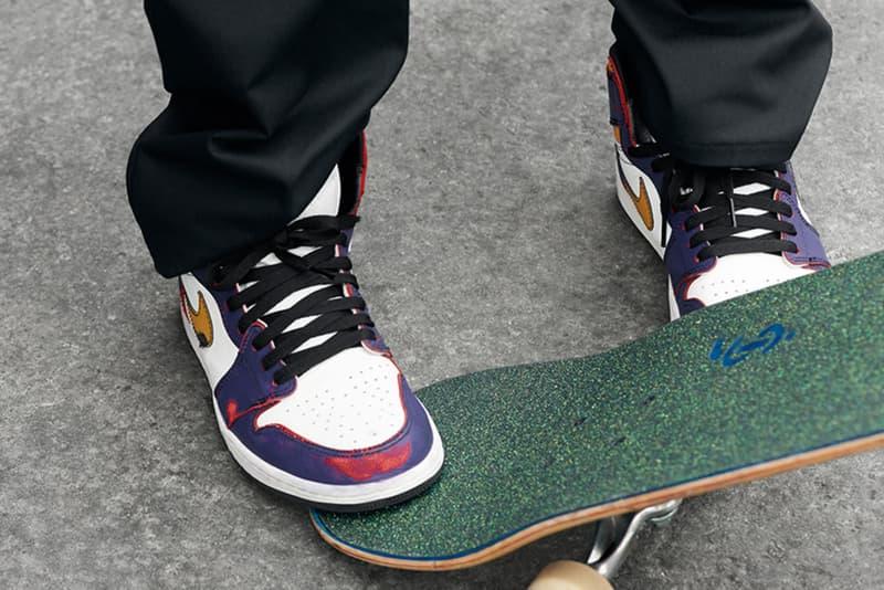 Air Jordan 1 Nike SB Photos Sortie