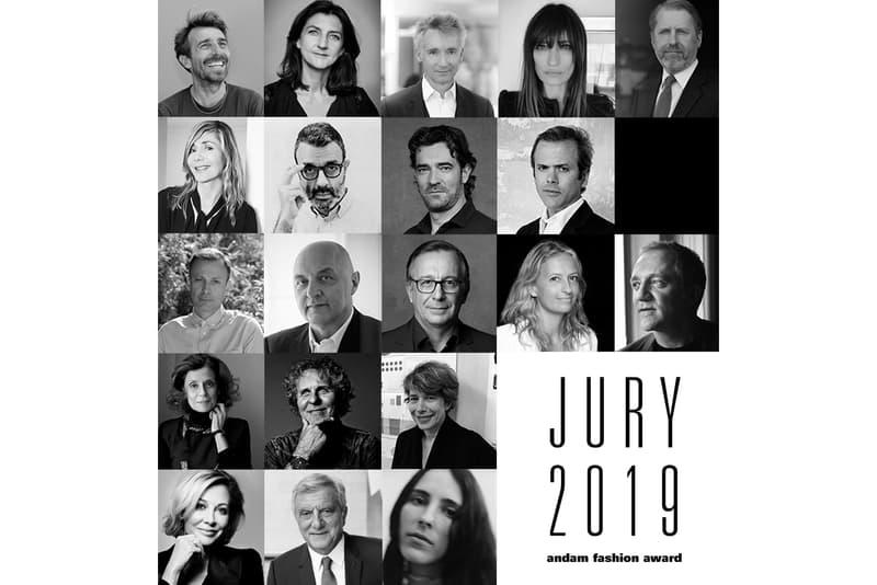 Photo Du Jury De L'ANDAM 2019