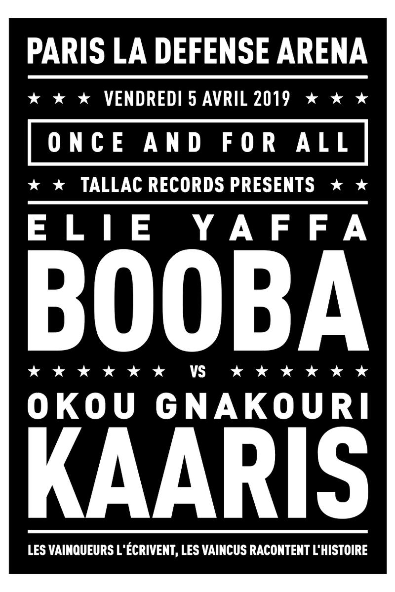 Booba Kaaris Combat Affiche Art