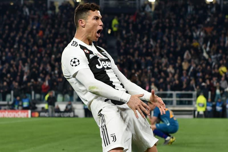 Cristiano Ronaldo Célébration Amende Ligue des champions