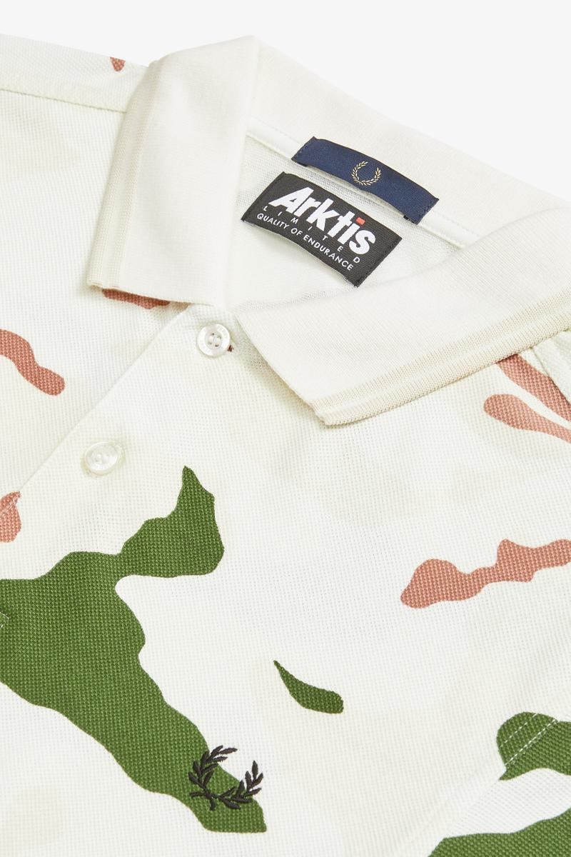 Fred Perry Arktis Collection Lookbook
