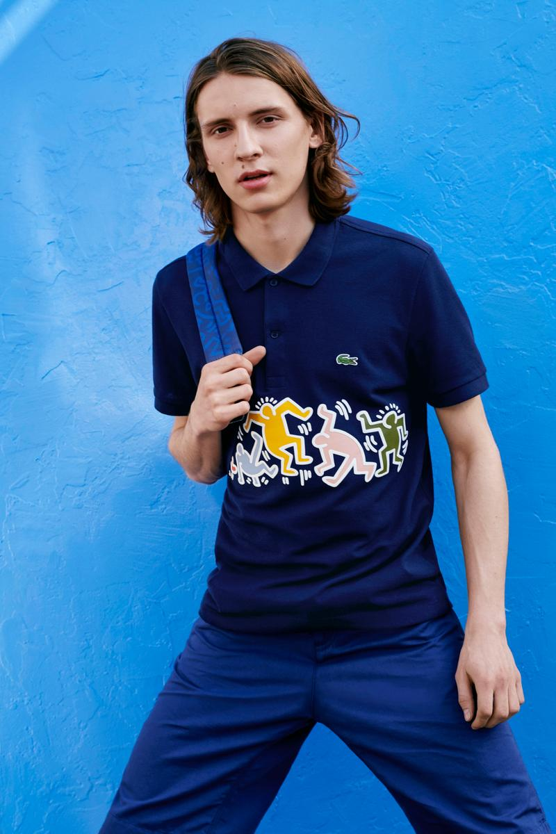 Photo Lacoste x Keith Haring