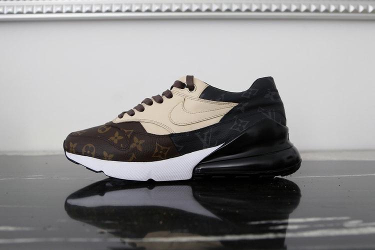 huge selection of 47479 61756 Un Artiste New-Yorkais Crée Une Nike Air Max 270/1 x Louis Vuitton